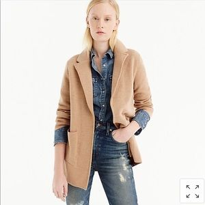 Jcrew Open front sweater blazer